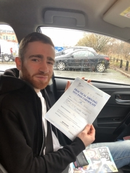 Just passed my test (8/12/2018) in Borehamwood thanks to the excellent teaching instruction from Steven.