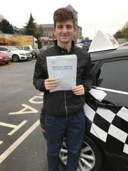 I passed my driving test first time with Steven He is truly an AMAZING instructor and I would highly recommend him His teaching methods is so relaxed and his calm manner helped to keep me focused I am very grateful and can´t thank him enough My brothers Alex and Jamie both passed first time as well with Steven HIGHLY RECOMMNEDED<br />